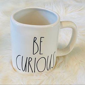Rae Dunn BE CURIOUS mug